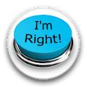 I'm Right Button icon
