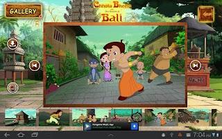 Screenshot of Bali Movie App - Chhota Bheem