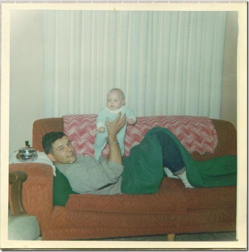 Sandy and Uncle Doyle Tuckerman Feb 19 1966 2