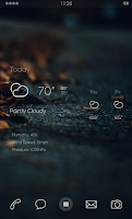 Screenshot of Dark Autumn Theme
