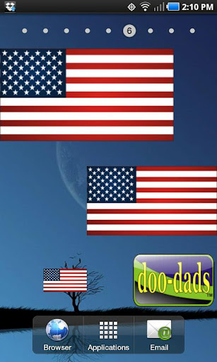 American Flag doo-dad