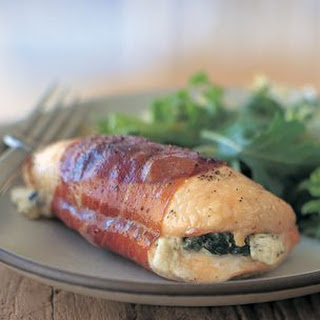 Spinach and Cheese Stuffed Chicken