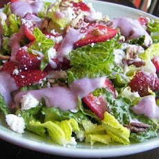 Strawberry Spinach Salad With Yogurt Dressing