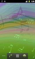 Screenshot of Melody Live Wallpaper