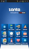 Screenshot of Zante