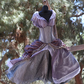 Purple Ren Faire Dress by Leah N - Artistic Objects Clothing & Accessories ( ren fair 2014, artistic, object )