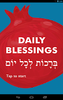 Screenshot of Daily Blessings