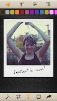 Screenshot of Instant: Polaroid Instant Cam