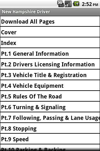 【免費書籍App】New Hampshire Driver Handbook-APP點子