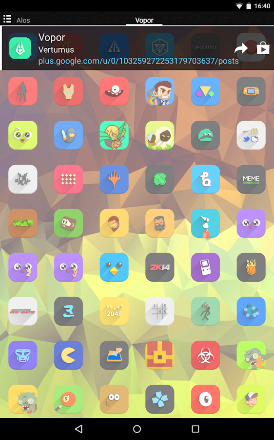 Vopor - Icon Pack Screenshot 13