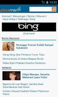 Screenshot of Plasa MSN