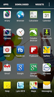 Screenshot of Galaxy S4 Apex Nova ADW Theme