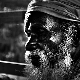 The Old Man by Martand Dihingia - People Portraits of Men