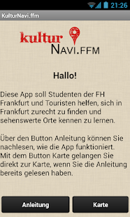 KulturNavi.ffm - screenshot