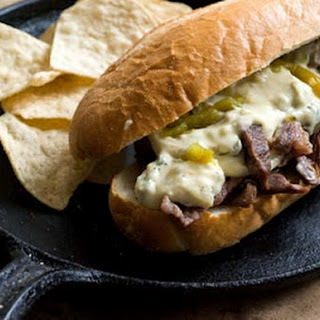 Green Chile Cheese Steak