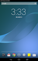 Screenshot of Xperia Z2 Live Wallpaper (ORI)