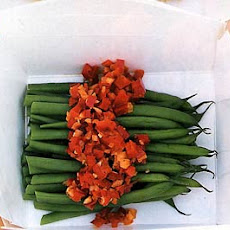Haricots Verts with Hot Pepper Relish