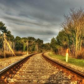by Kristijan Siladić - Transportation Railway Tracks