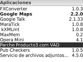 Nuevo Parche idioma español para Blackberry y Parche Marcacion por Voz español 5