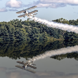 Reflections by Ron Meyers - Transportation Airplanes