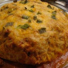 Cheesy Enchilada Stack