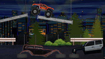 Screenshot of Monster Truck Stunts