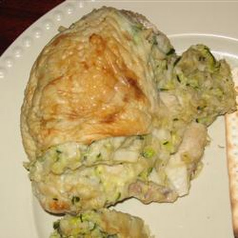 Passover Zucchini-Stuffed Chicken