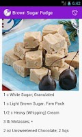 Screenshot of Homemade Candies Recipes