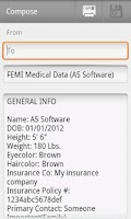 Screenshot of FEMI-Family Medical Charting