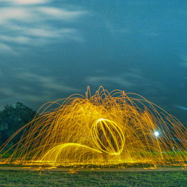 by Armie YS Yusop Teppo - Abstract Light Painting