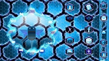 Screenshot of Ultimate Honeycomb 2 Clock