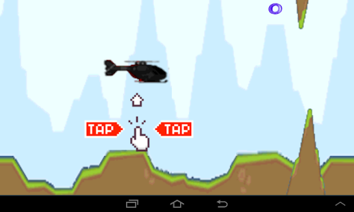 Flying Helicopter - screenshot