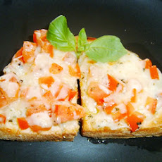 Tomato, Basil and Parmesan Bruschetta Topping