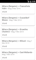 Screenshot of Ryanair - Offerte Speciali