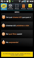 Screenshot of UCI CINEMAS BRASIL