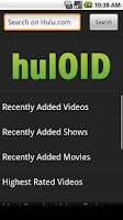 Screenshot of hulOID