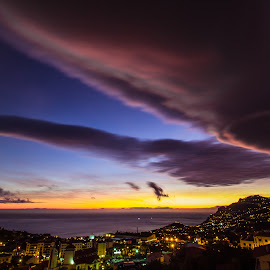 Clouds by Rubina Delgado - Landscapes Cloud Formations ( clouds, sky, sunset, portugal, madeira )
