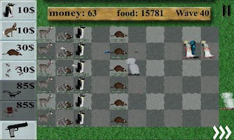 Screenshot of Animals vs. zombies free
