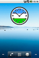 Screenshot of Uzbekistan Clock
