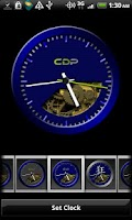 Screenshot of Blue Crazy Clock Pack