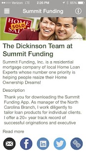 Summit Funding Dickinson Team - screenshot