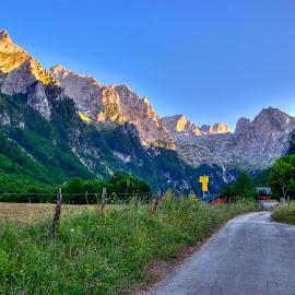 Prokletije mountains by Nikola Bašić - Landscapes Mountains & Hills (  )