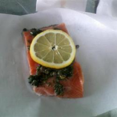 Citrus Salmon in Parchment Parcels