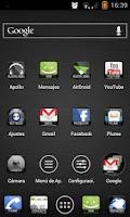 Screenshot of Apex Theme BlackLabel