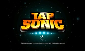 Screenshot of Rhythm Action TAP SONIC
