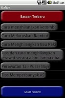 Screenshot of Info Kesehatan