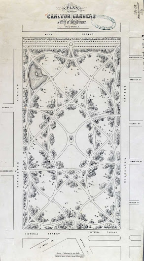 Original Plan of Carlton Gardens 1874