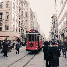 The Taksim by Farrah-Diba Sing - Transportation Trains ( travel, turkey, istanbul,  )