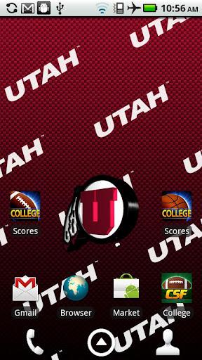 Utah Utes Live Wallpaper HD