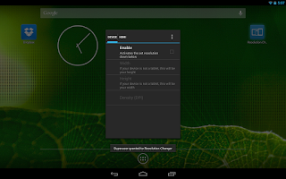 Screenshot of Resolution Changer Pro